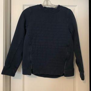 Lululemon crew neck sweatshirt (navy blue)